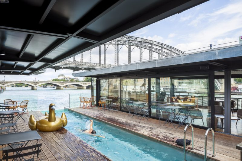 16 hotels vacances de reve en Europe - seine design - Paris